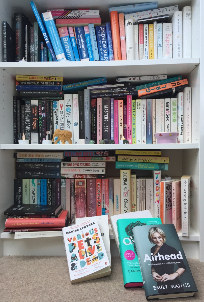 What does your bookshelf say about you?